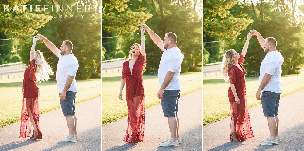 Durand Eastman Beach Park Rochester Engagement Session Photography