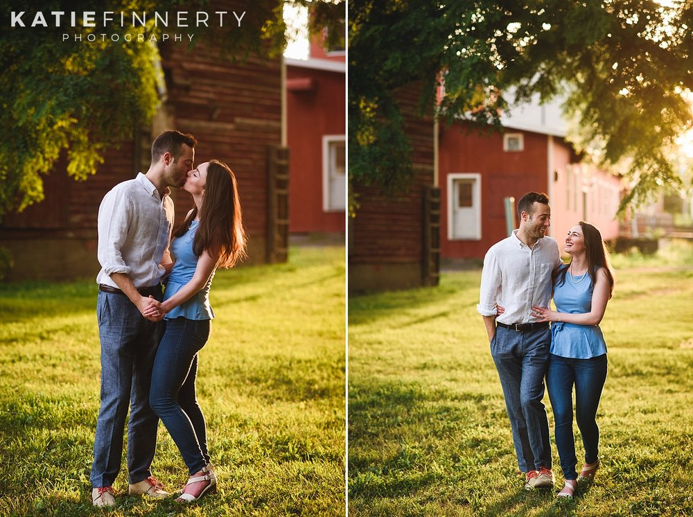 Schoen Place Canal Rochester Engagement Photography