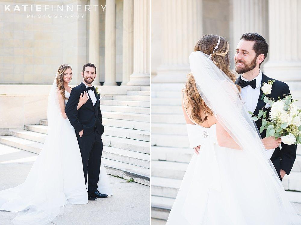 Albright Knox Buffalo Wedding Photography