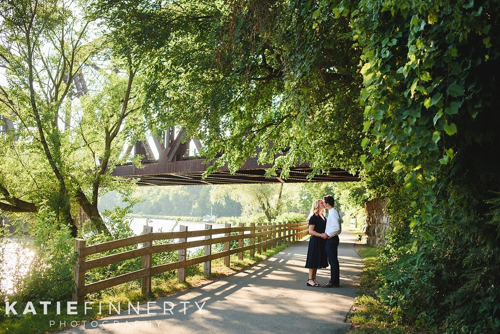 Pittsford Canal Rochester Engagement Session