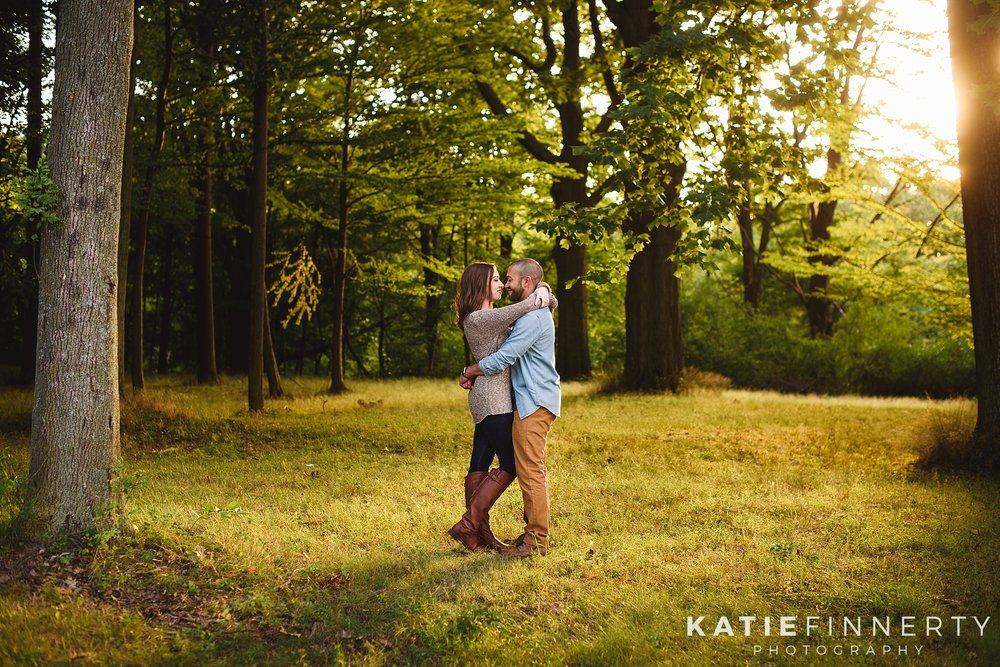 Durand Eastman Park Rochester Engagement Photography