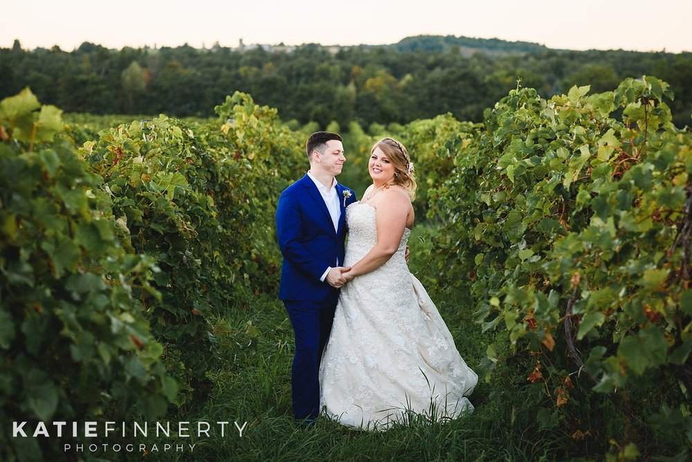 Heron Hill Winery Vineyard Finger Lakes Wedding Photography