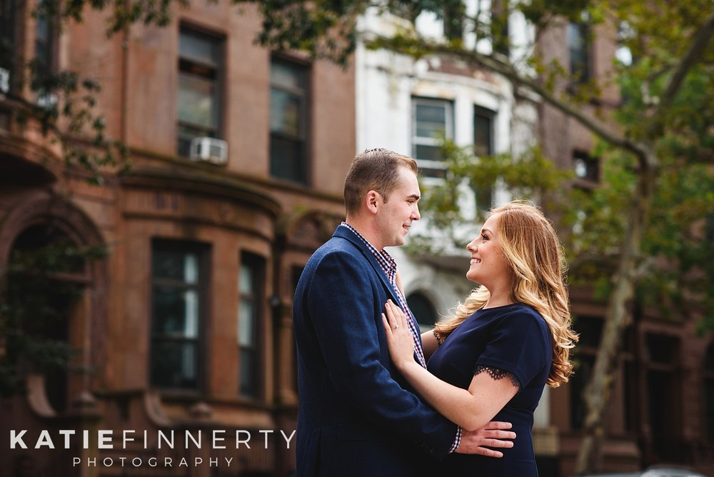Upper West Side NYC Engagement Session Photography