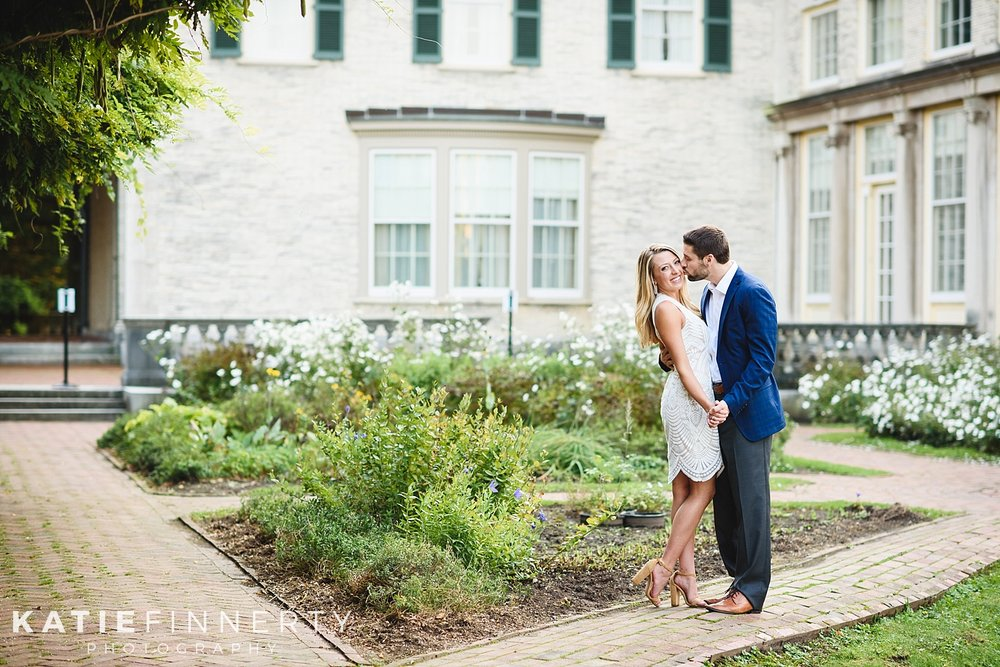 George Eastman House Rochester Engagement Session Photography