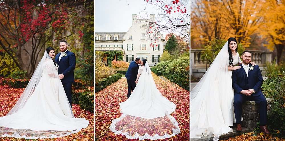 George Eastman House West Garden Wedding Photography