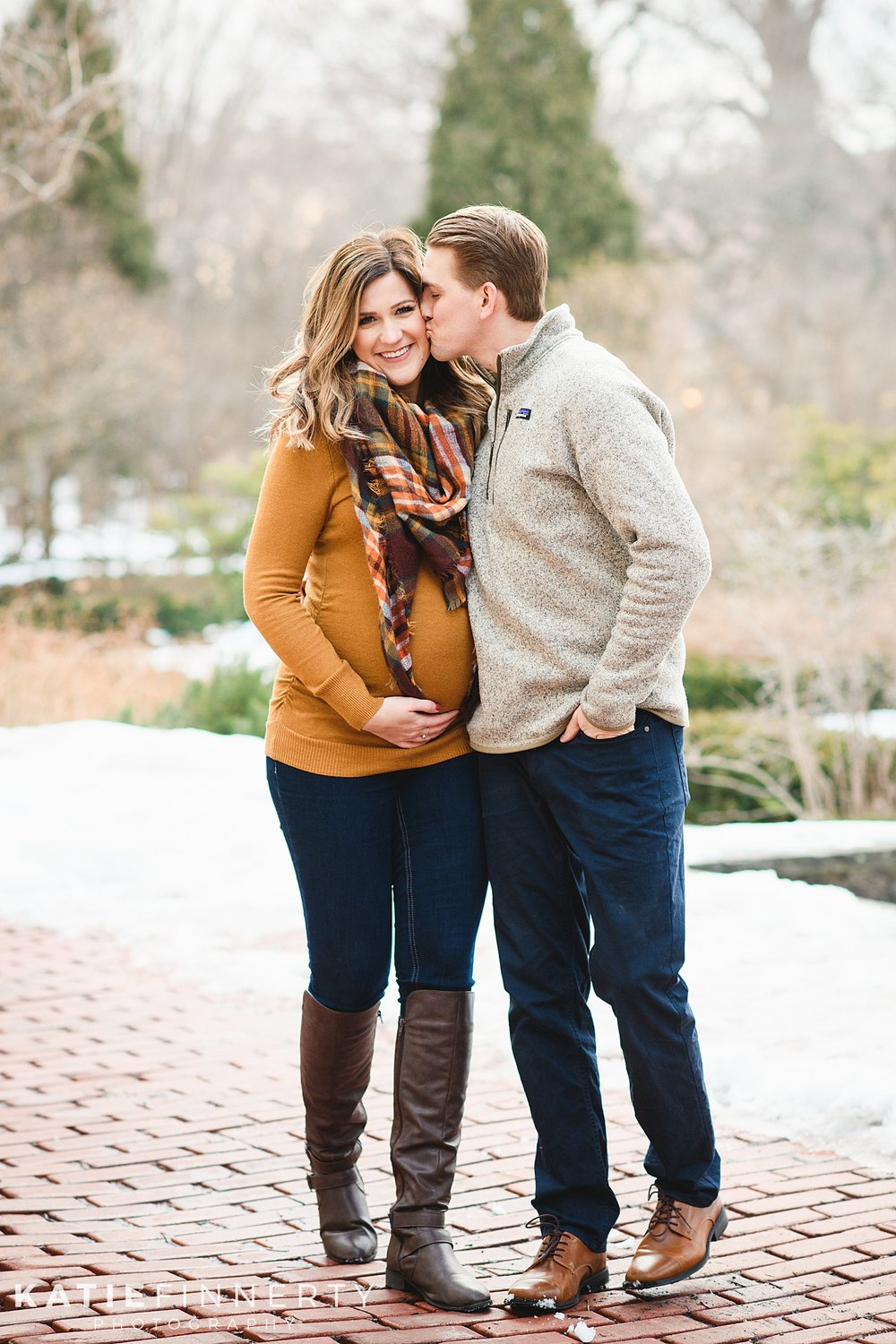Rochester Winter Maternity Photography