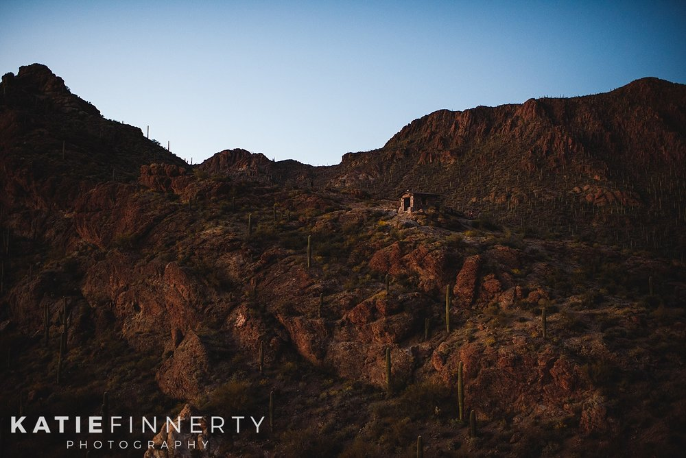 Saguaro National Park Gates Pass Sunset Travel Photography