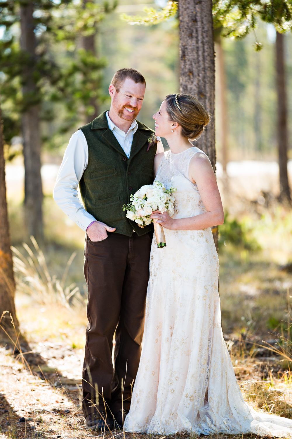 Yellowstone Wedding Becky Brockie Photography Couple