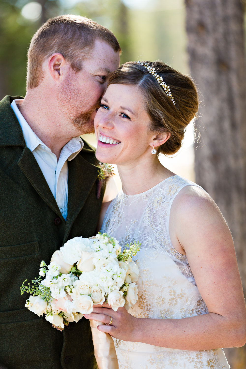 Yellowstone Wedding Becky Brockie Photography Bride