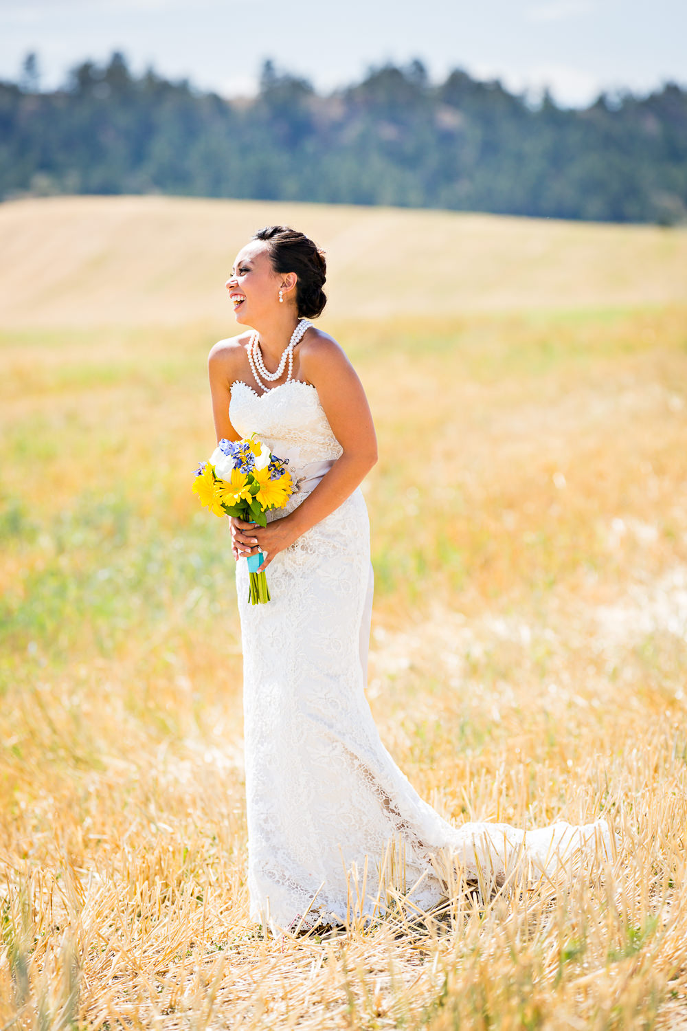 billings-montana-chanceys-wedding-first-look-bride-looks-at-groom.jpg