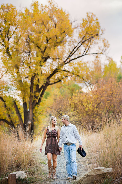 Wedding Photographers Billings Mt Fall Engagement Session