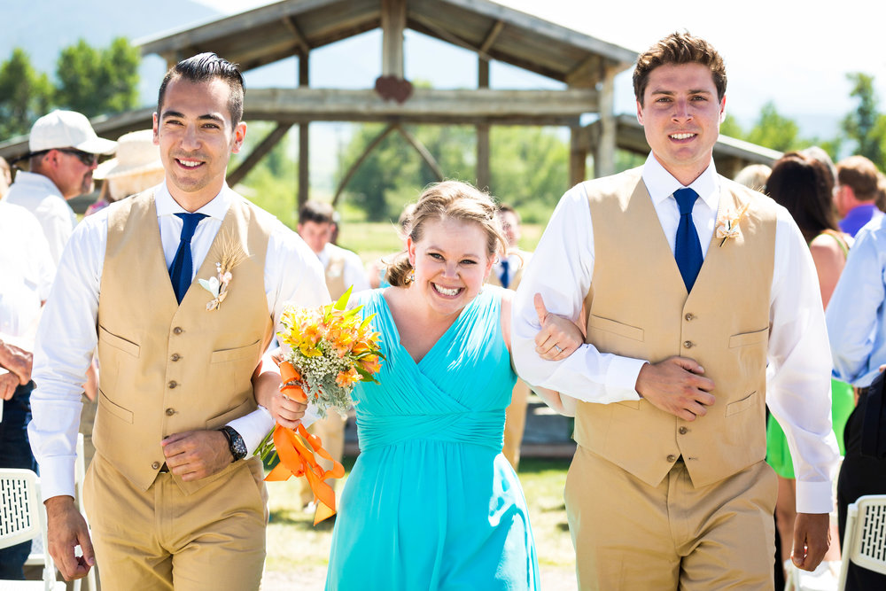 bozeman-wedding-hart-ranch-bridal-party-recessional.jpg
