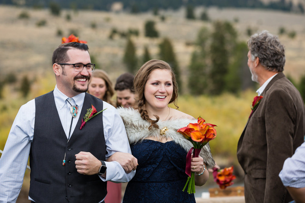 big-sky-montana-gallatin-riverhouse-wedding-brother-sister-recessional.jpg