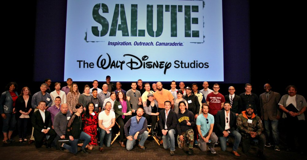 Speaking at The WALT DISNEY STUDIOS in Los Angeles, California, 2017.