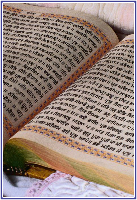 The Guru Granth Sahib in Sikh Life