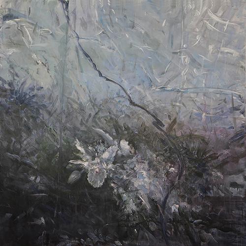 Jungle Vines 7 , acrylic on canvas, 48x48  2013