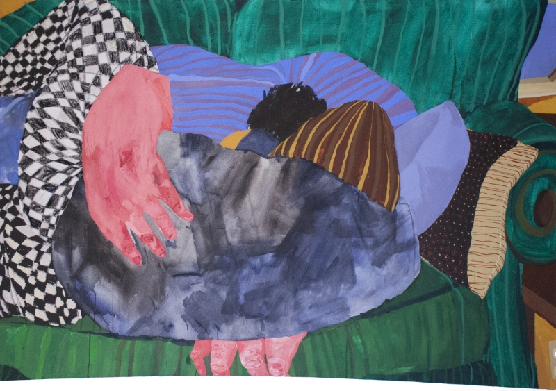 Nicole Dyer,  Sleeping Together , 2015