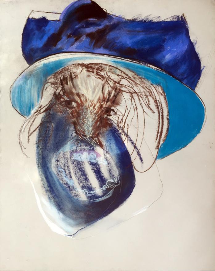 Cassat Hat My Blue Whale
