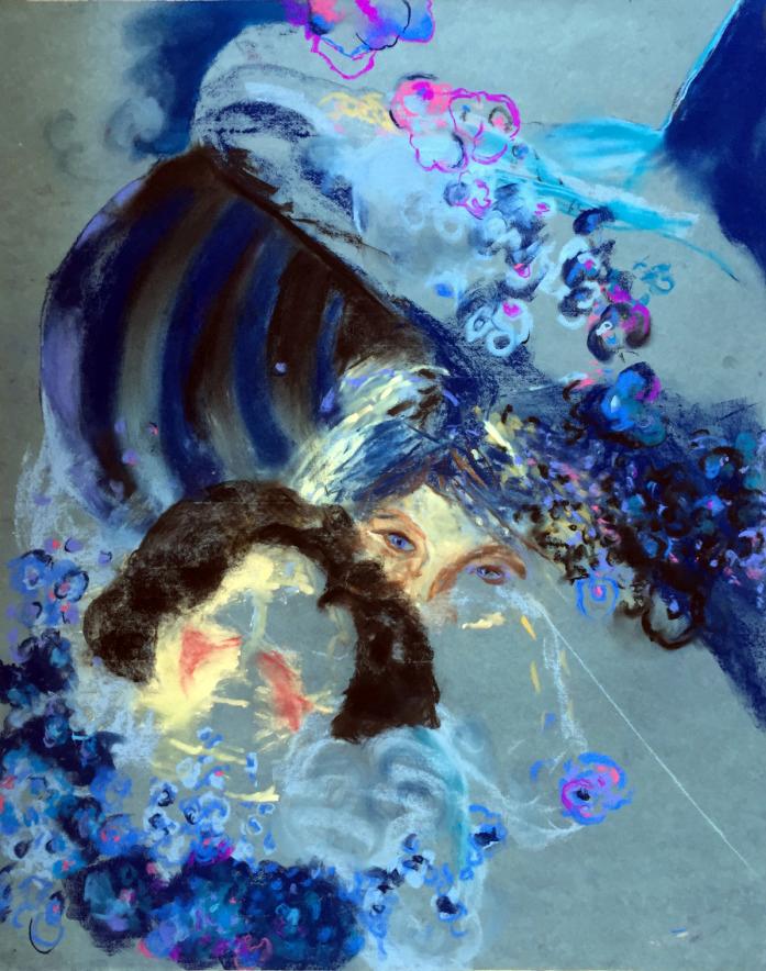 Blue Whale Klimt Chandra