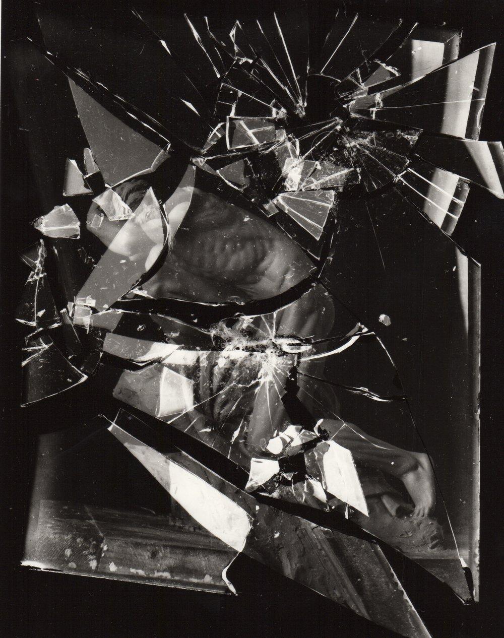 "Randy Grskovic,  Memory 1 (v.3),  selenium toned gelatin silver print, 18"" x 20"" 2016"