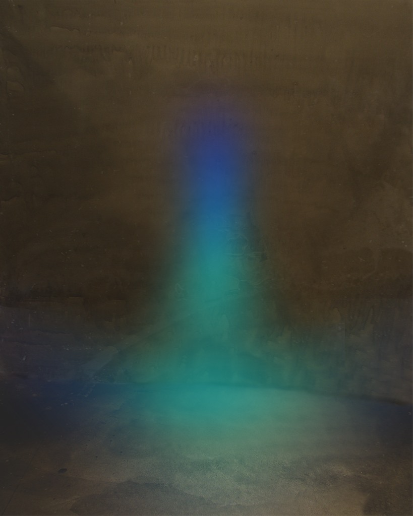 "Night Sets (Lt 008) , archival pigment print, 38.5"" x 26.5"" 2004  Edition of 10"