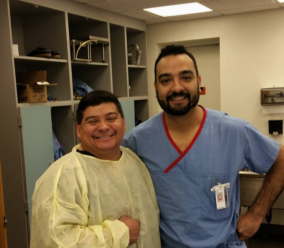 Dr. Loredo and Dr. Emmanuel Ruiz
