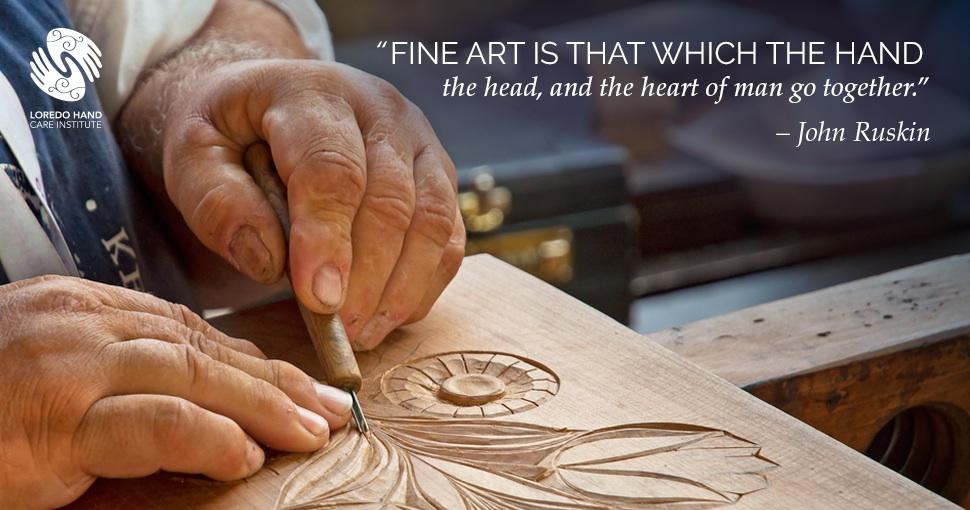 John Ruskin Quote Fine Art