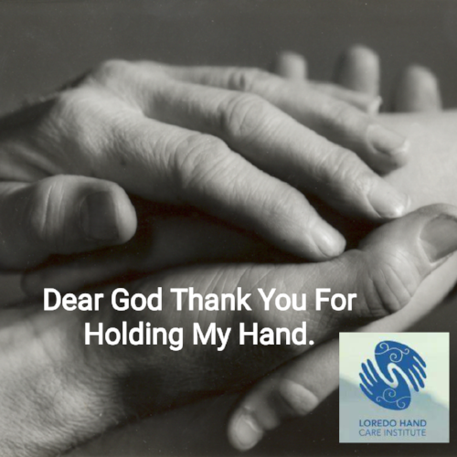 Lord God, you are my strength. Hold my hand in my weakness and teach my heart to fly. With you, there's nothing to fear, nothing to worry about. Hold me tight in your embrace, so that I can be stronger than the challenges in my life. Amen. www.loredohands.com 972-939-4974
