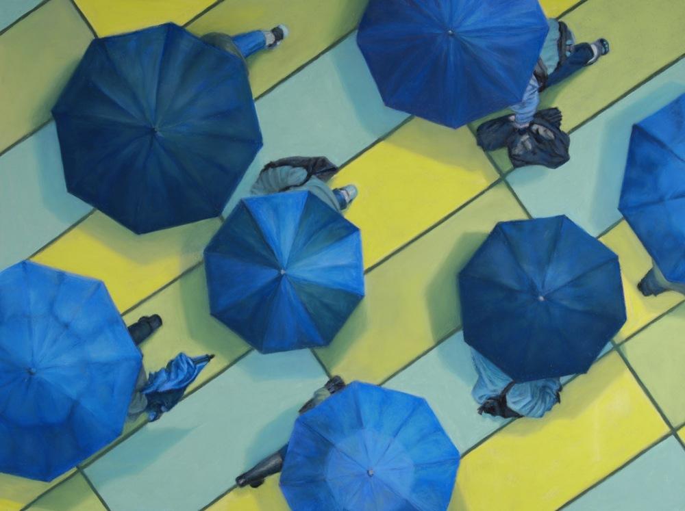Overlook #14 Blue 'shrooms