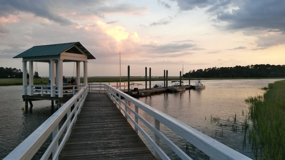 Habersham is on the Broad River, just minutes from historic downtown Beaufort, SC.