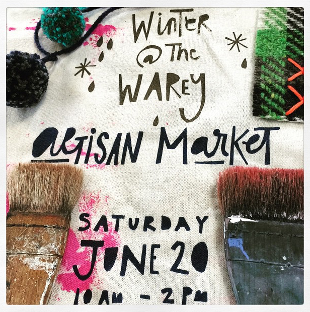 Winter At The Warey Artisan Market