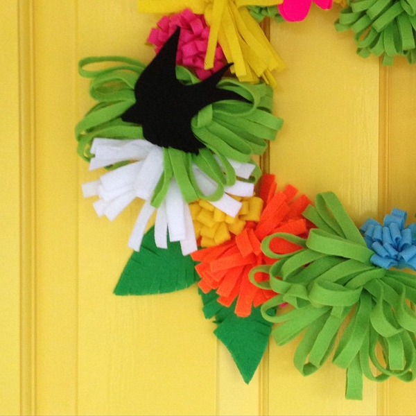 Libby millington @craftitupcreative Instagram Wreath
