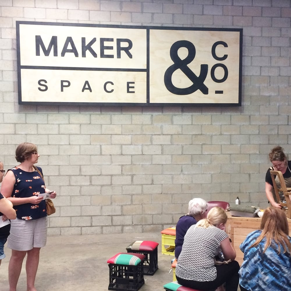 Makerspace&Co Open Day Jan 16 with Furniture Resurrection