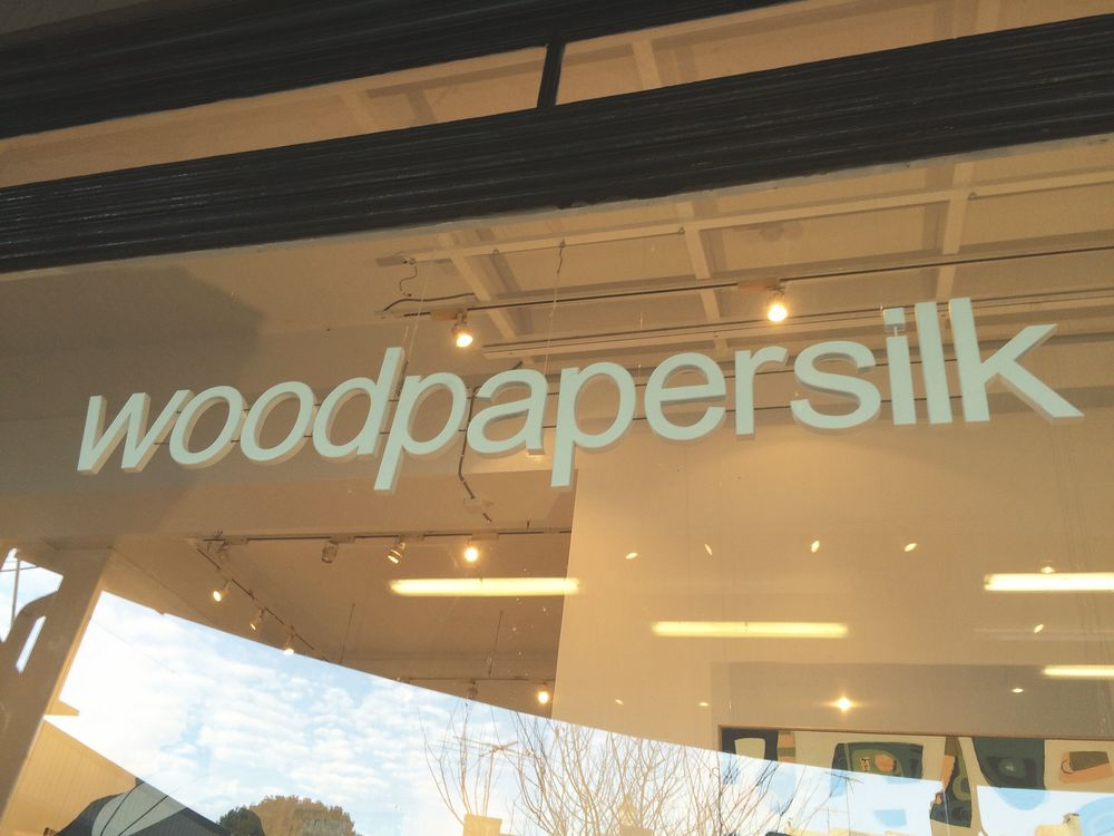 Wood Paper Silk Shopfront Lewisham