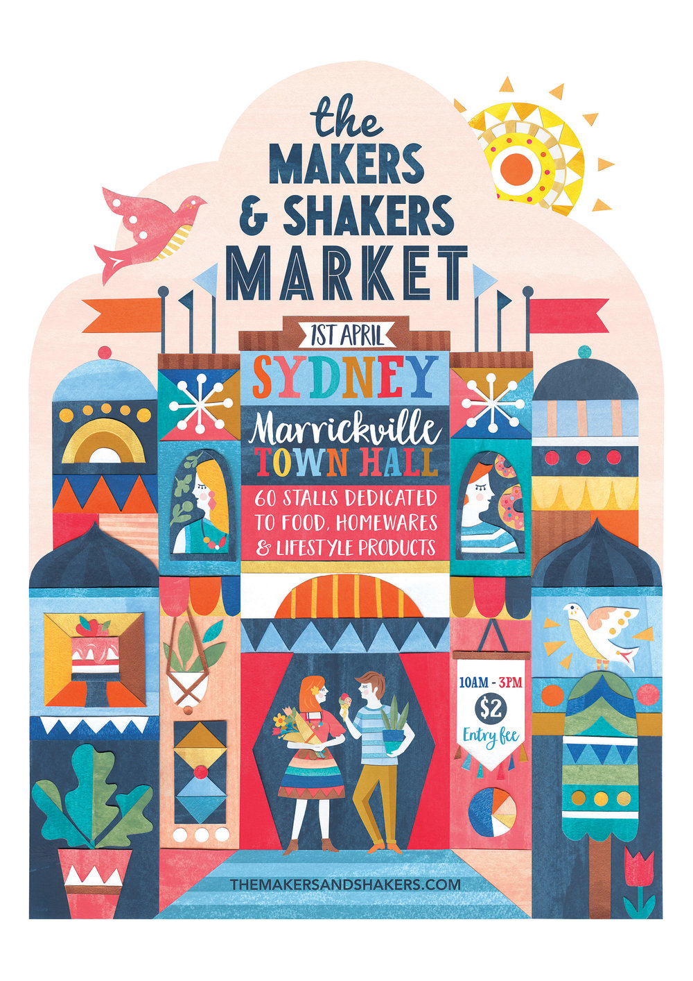 The Makers & Shakers Market Sydney April 2017