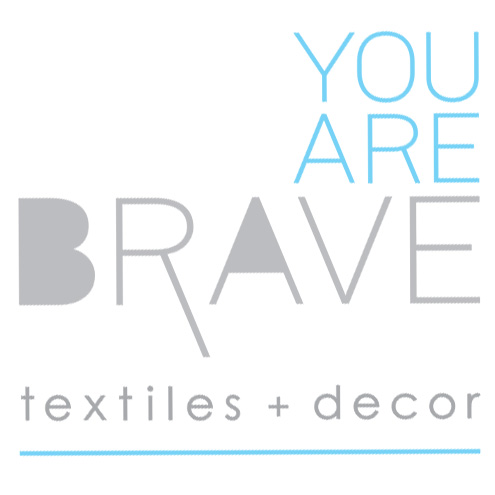 YOU ARE BRAVE Hand Printed Textiles & Handmade Home Decor Made In Australia By Textile Designer Michelle Kistima-Menser
