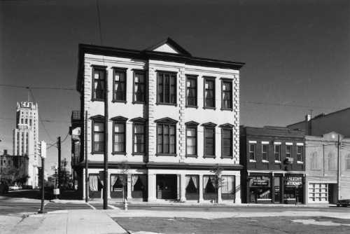 OAR's old building at 3rd and Main in the 1960's.  OAR services took place in St. Alban's Hall, a historic landmark built in the 1800's.  OAR moved to Scotts Addition in July 2016.