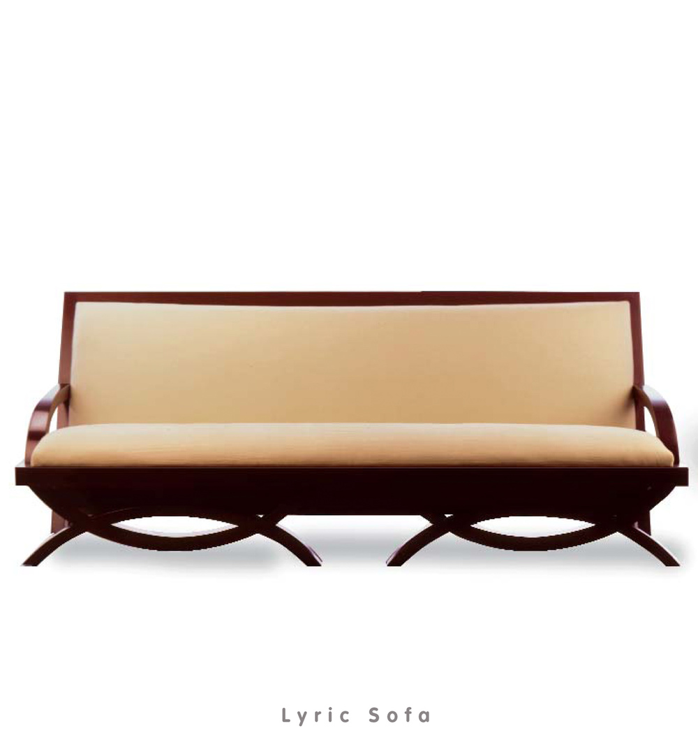 view: Lyric Sofa Catalog Page