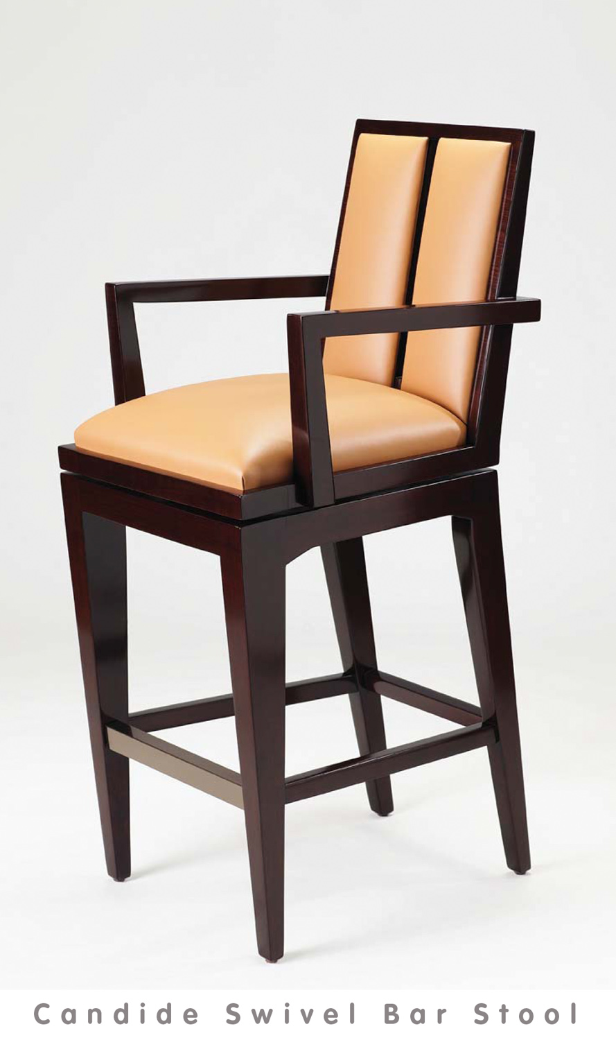 view: Candide Swivel Bar Stool Catalog Page