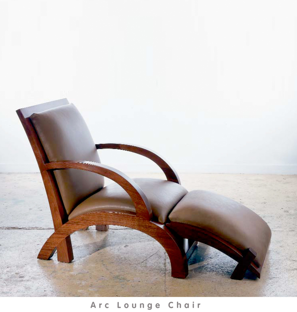 view: Arc Lounge Chair Catalog Page