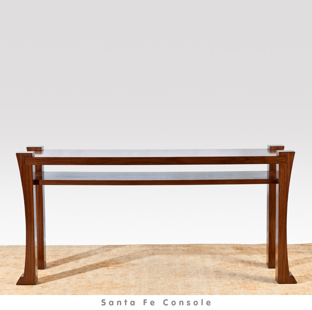 view: Santa Fe Console Catalog Page