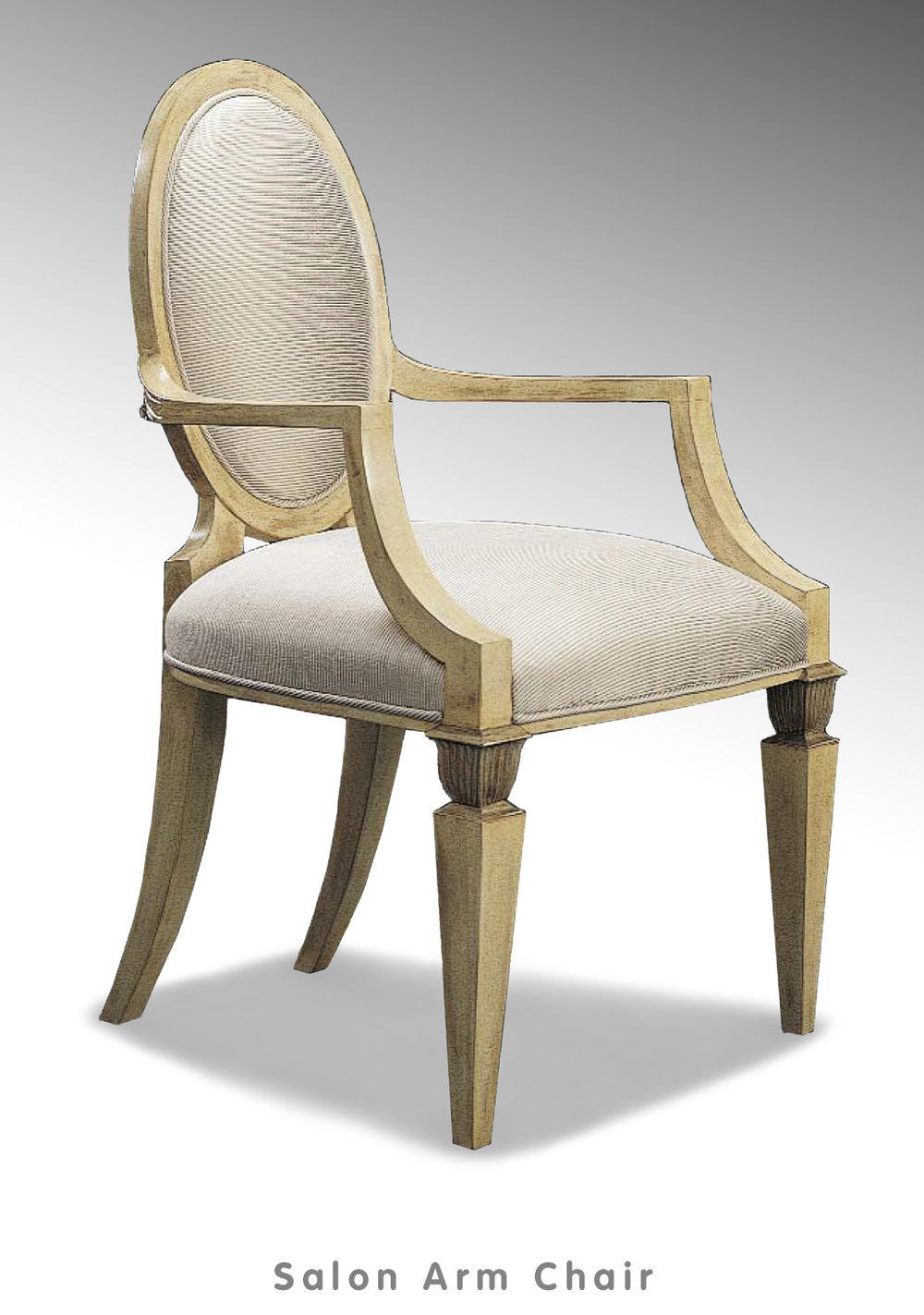 Salon Arm Chair