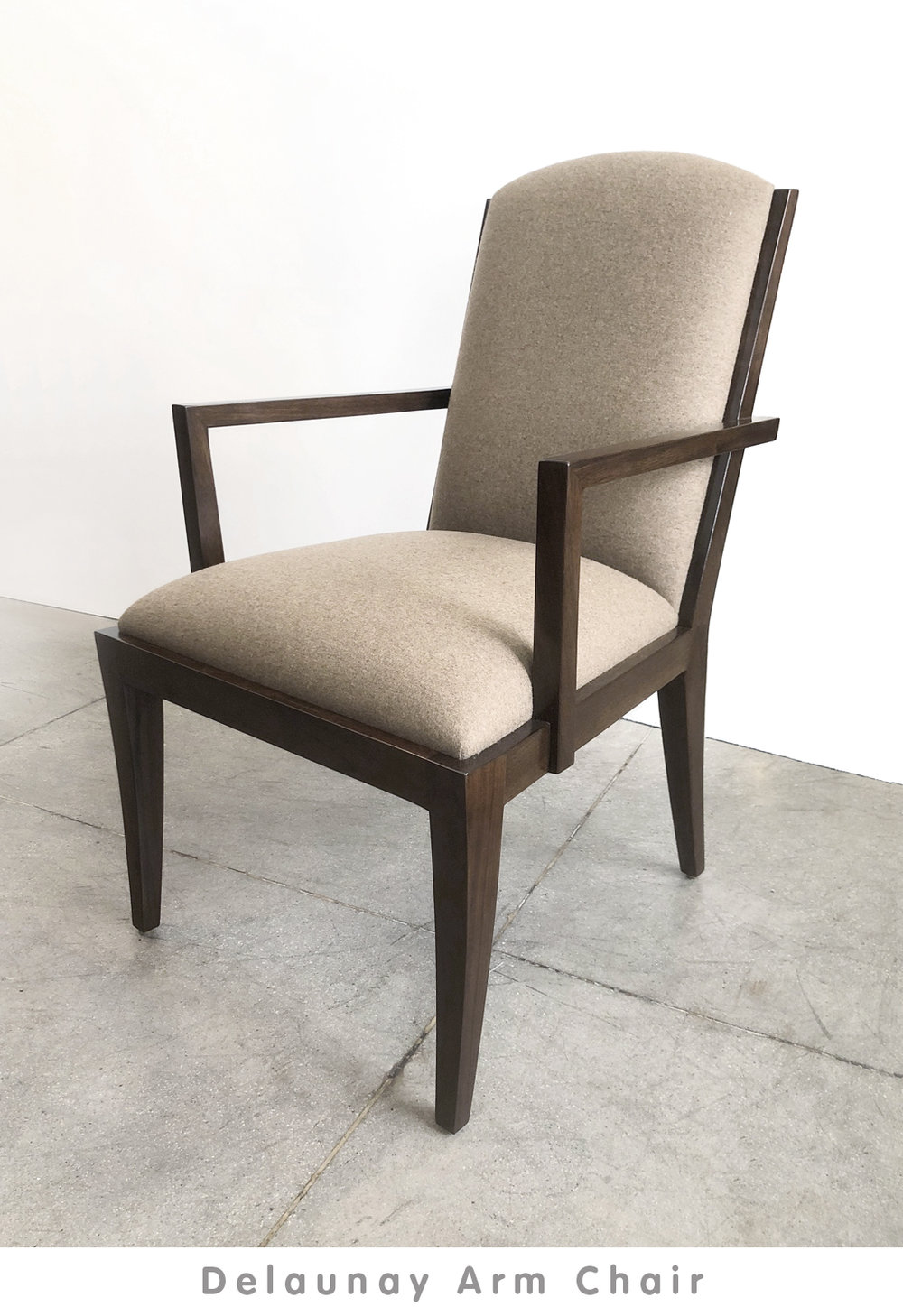 view: Delaunay Arm Chair Catalog Page