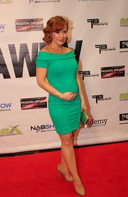 2015 International Academy of Web Television Awards in Vegas - Nominated for Best Actress in a Comedy