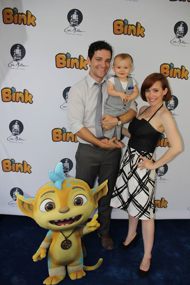 At Paula's Brother-in-Law's launch of his new Eric Miller Animation Studios short film Bink