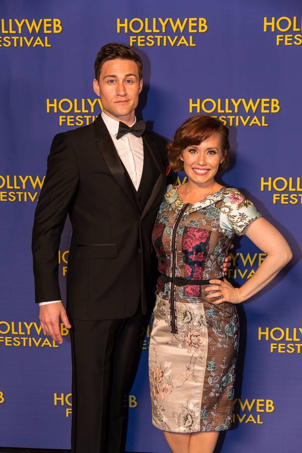 Hosting the 2016 Hollyweb Fest Awards with Brendan Bradley!