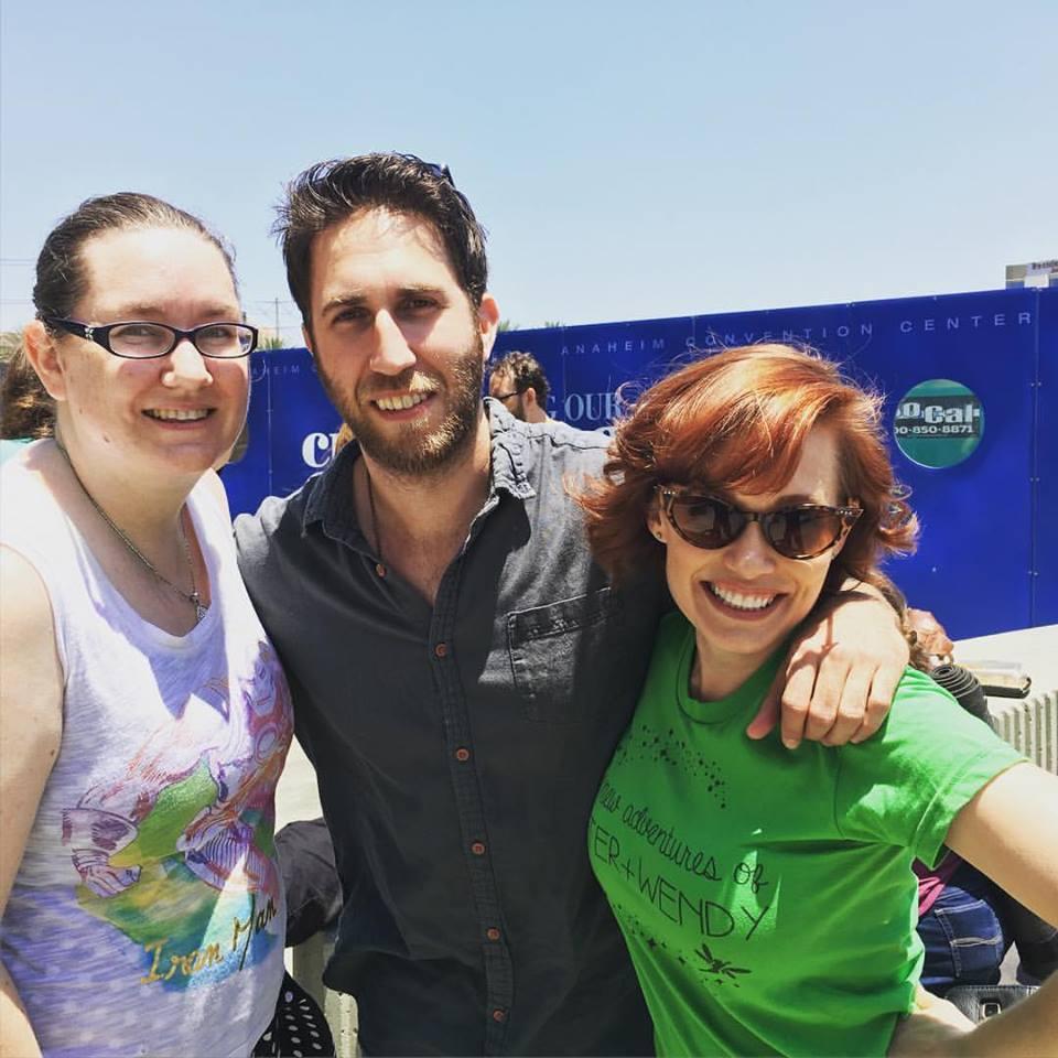 Producer Jenni Powell, Lonelygirl15's Yousef Abu-Taleb & Paula