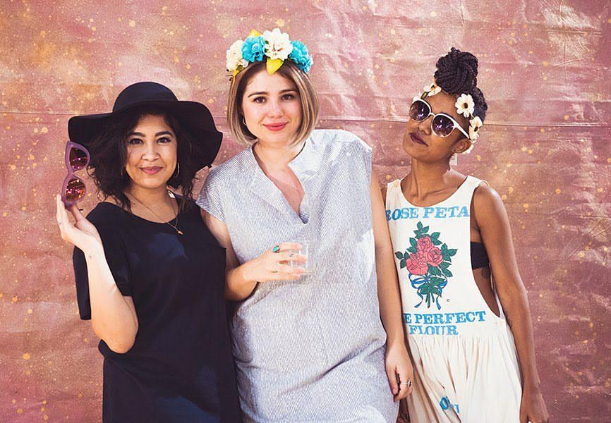 Boss Babes founders Leslie Lozano, Jane Claire Hervey, Ashlee Jordan Pryor. Image by Stef Atkinson.
