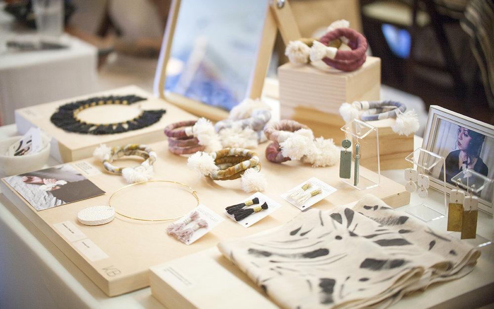 Kari Breitigam's sculptural jewelry.