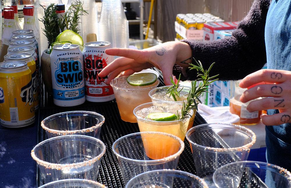 Big Bend Brewing, Big Swig, Espolon tequila, and Wray J rum!